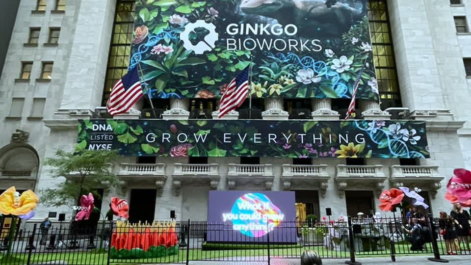What Gingko Bioworks and Amazon Have in Common: Gingko CEO