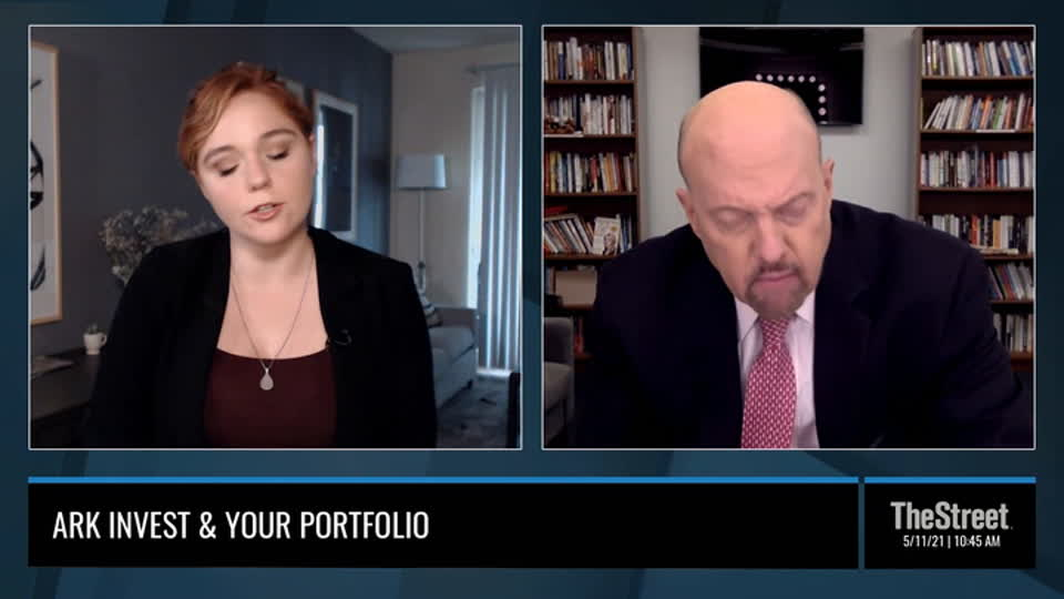 Why Jim Cramer Prefers Individual Stocks Versus Cathie Wood's ETF