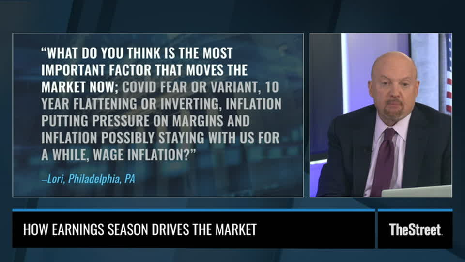 Jim Cramer: Earnings Season Drove Markets Higher Despite Delta, Inflation Fears