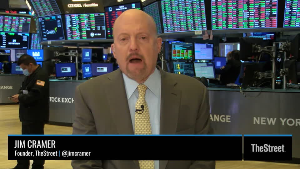 Jim Cramer: Tuesday's Action Shows Caution Ahead of FOMC Decision
