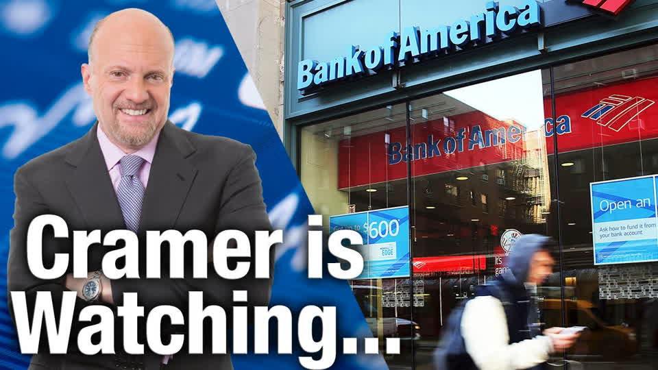 Jim Cramer Is Watching Bank of America and IBM Earnings Next Week