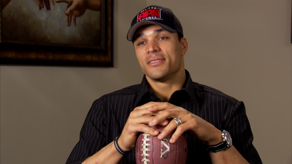 Coach Tony Gonzalez