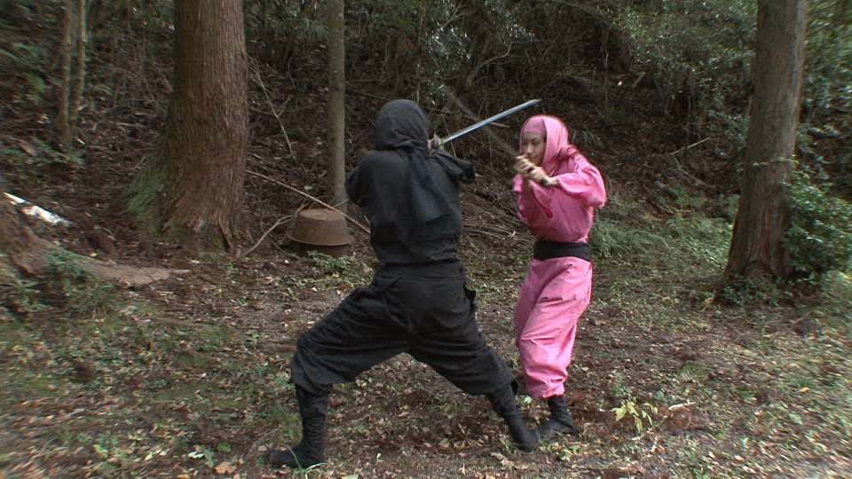 Ninja and Biwa lake