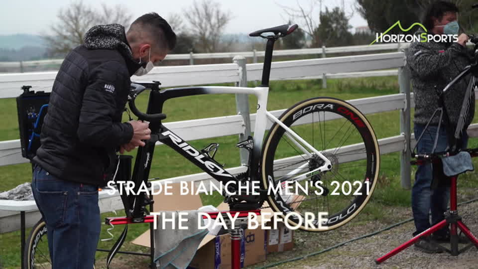 Strade Bianche Men 2021 - The Day Before