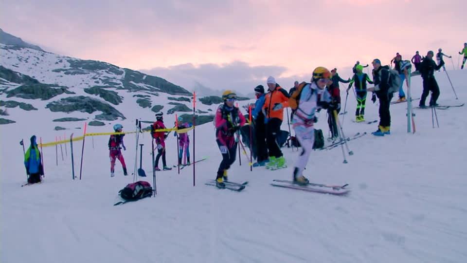 Adamello ski raid 2017