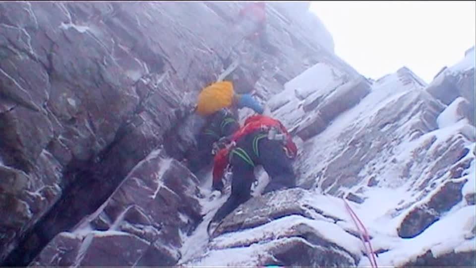Scottish Ice Trip in Ben Nevis
