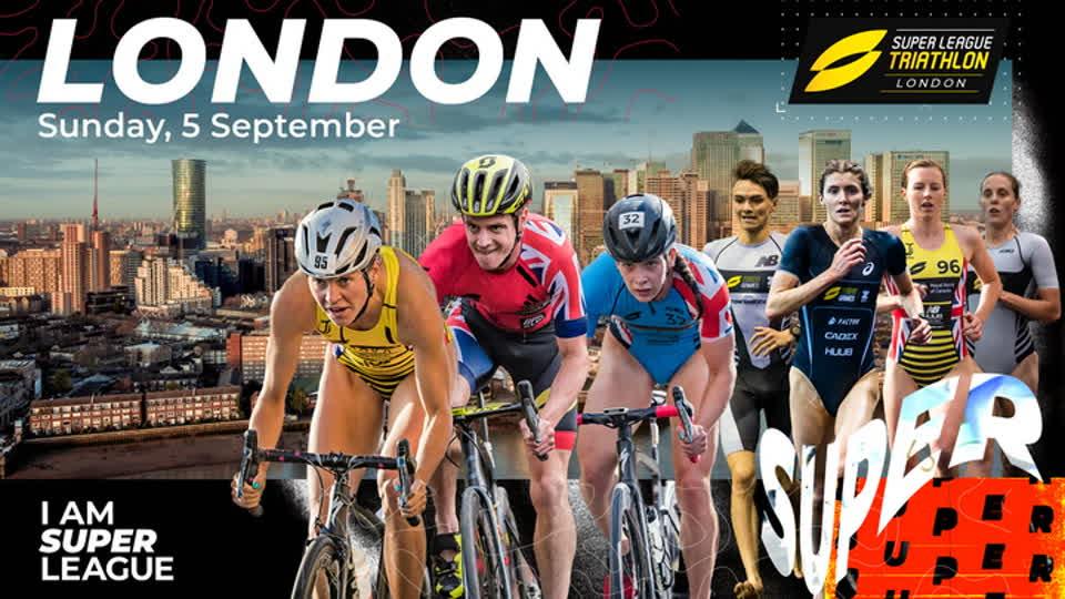 Super League Triathlon Championship Series - Race #1 London