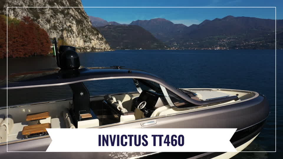 The new flagship by Invictus Yacht