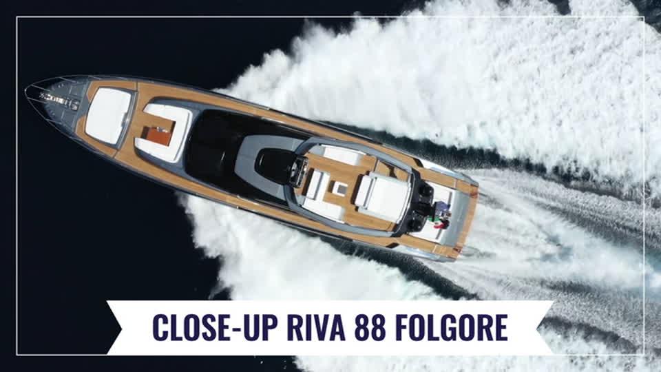 Riva 88 Folgore - Close-up