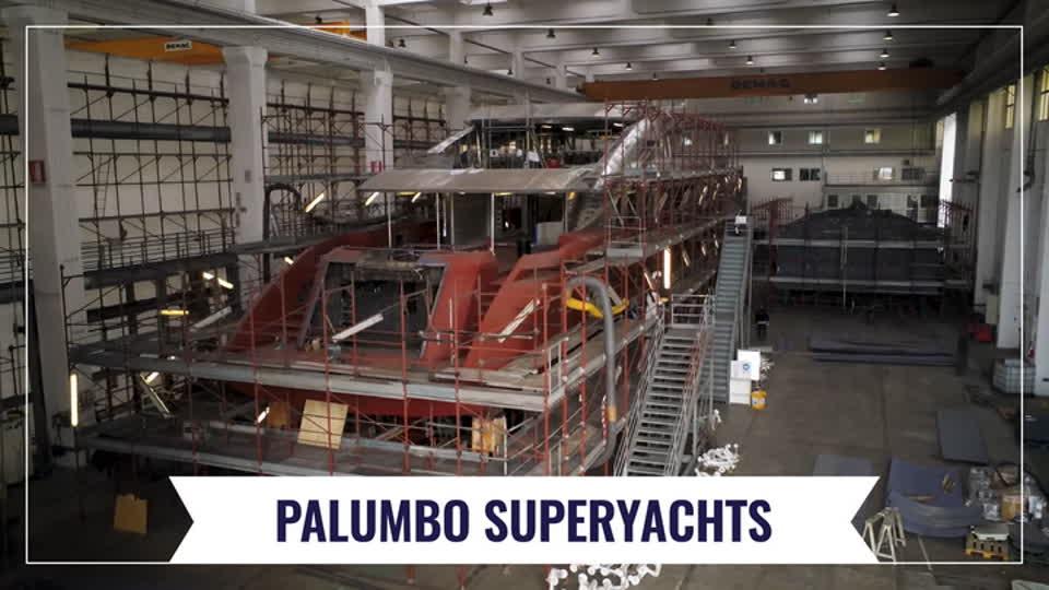 Palumbo Superyachts - The shipyard