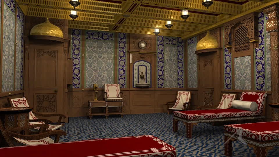 Surprises Inside Titanic: The Turkish Bath