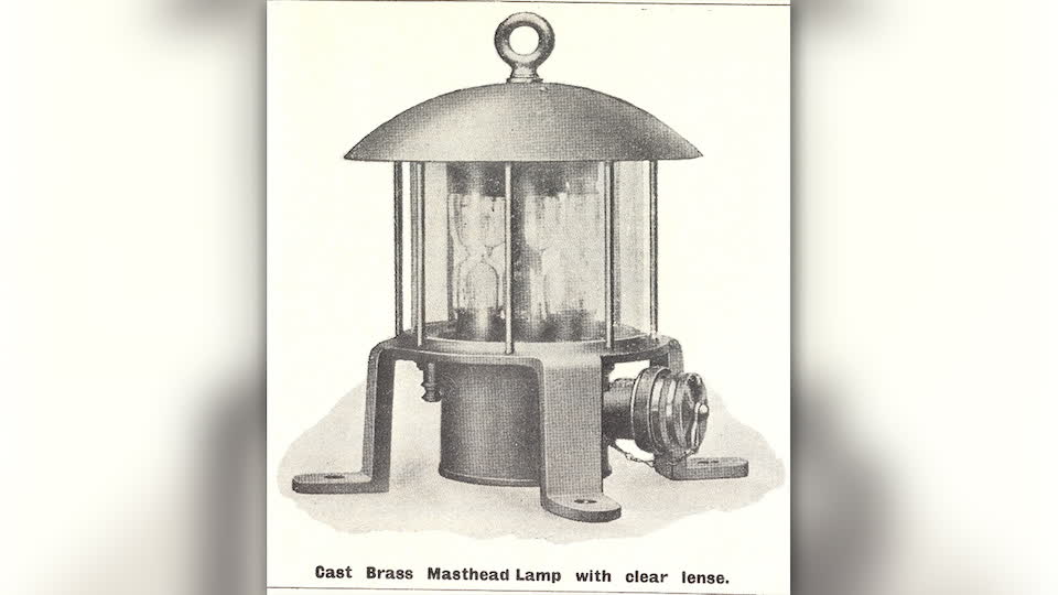 Titanic's Morse Lamps