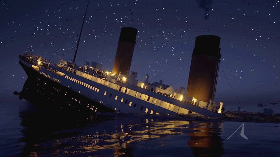 The Story Behind Titanic's Real Time Sinking