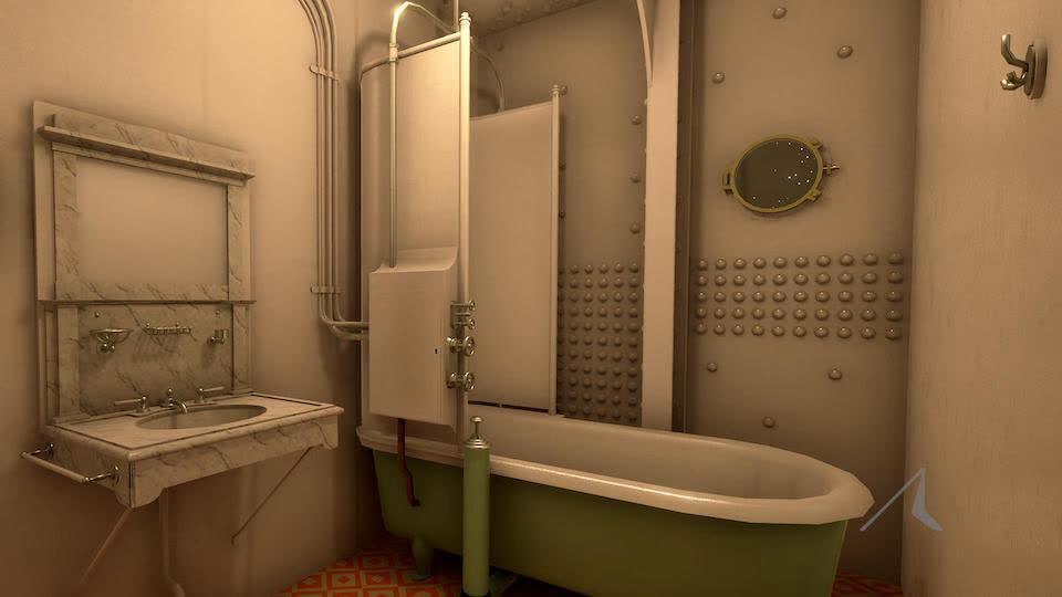 Two Bath Tubs