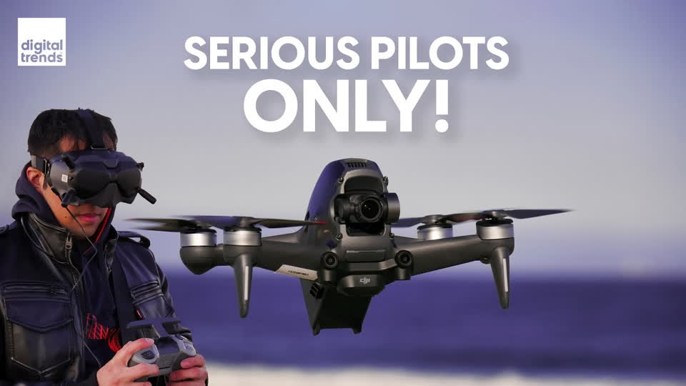 DJI FPV Drone Review and Flight Test | Quicker than a Tesla