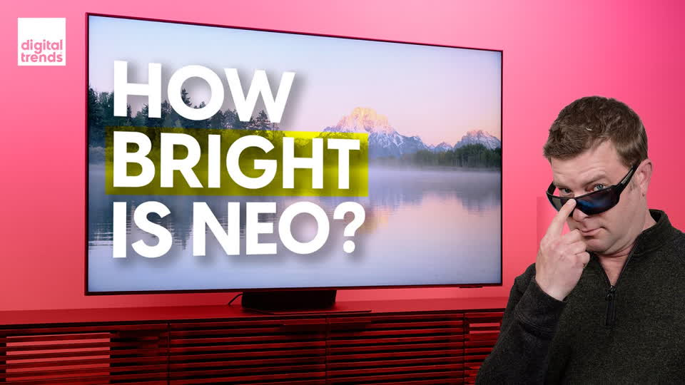 Samsung Neo QLED 4K TV Review (QN65QN90A)   Can this dull OLED's shine?