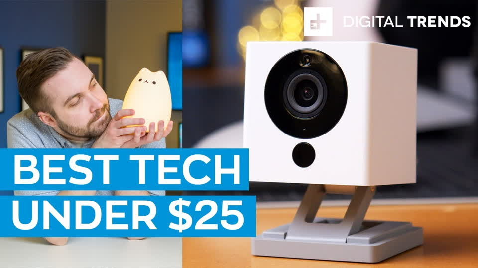 Best Tech Under $25 + Camera Giveaway! Tech For Less