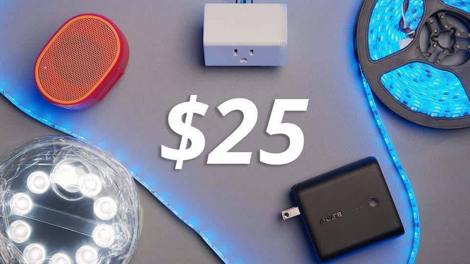 Best Tech Under $25 : Tech For Less