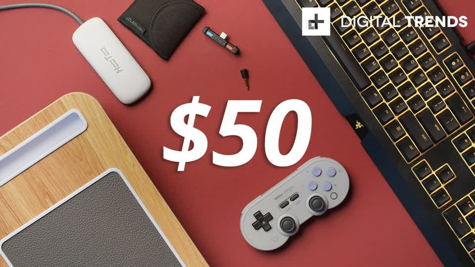 Best Tech Under $50 + 8Bitdo SN30 Pro Controller Giveaway! Tech for Less