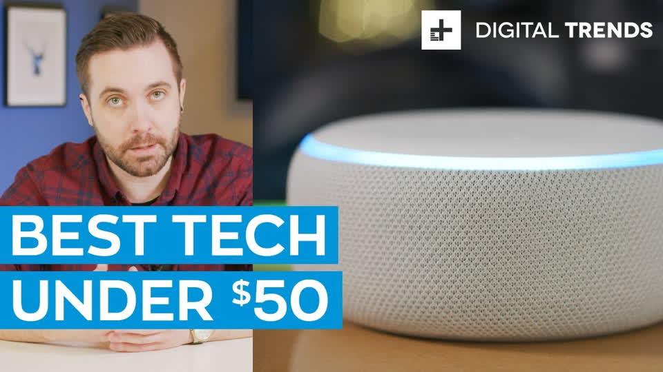 Best Tech Under $50 : Tech For Less