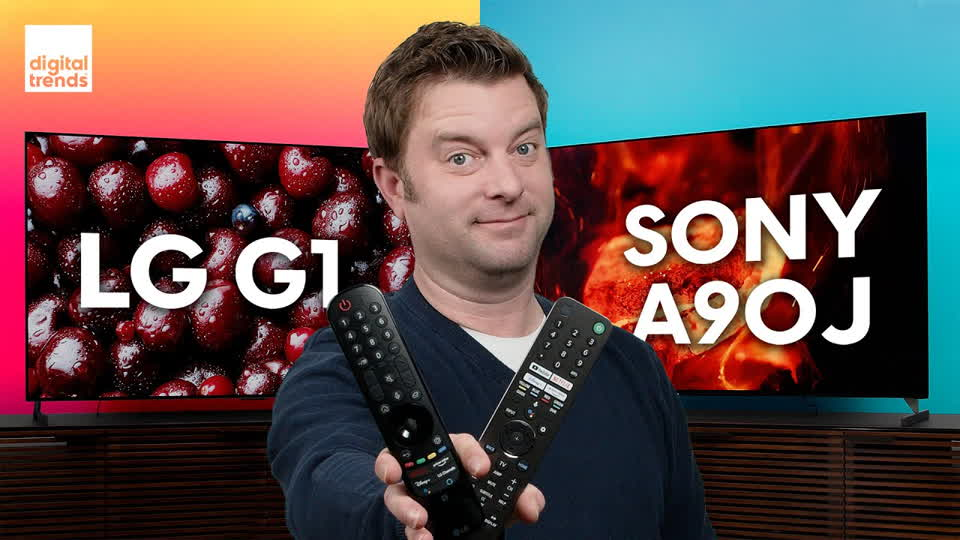 LG G1 OLED vs. Sony A90J OLED | Epic OLED Battle