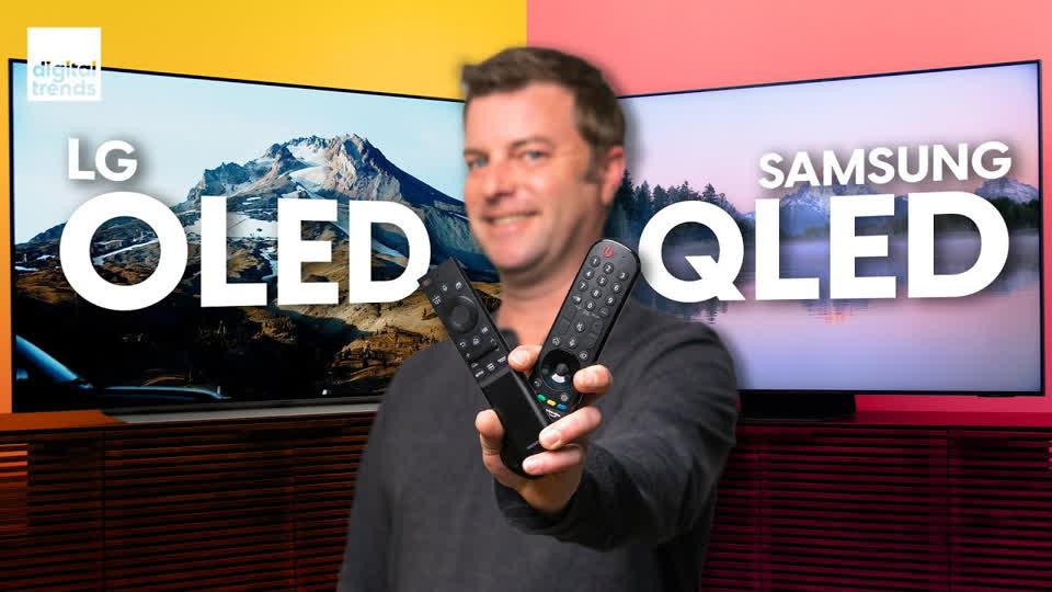 QLED vs. OLED | Samsung QN90A Neo QLED vs. LG C1 OLED