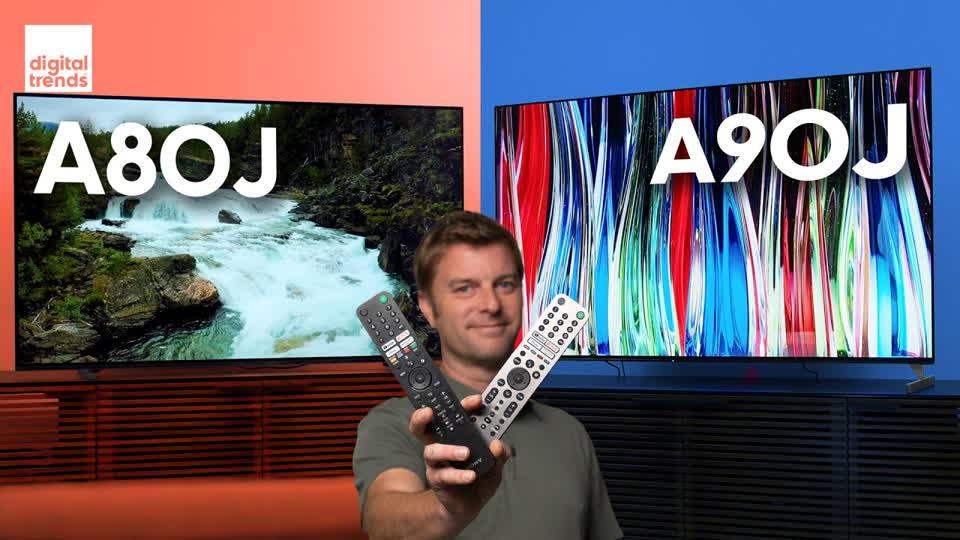 Sony A90J vs. A80J   OLED Showdown