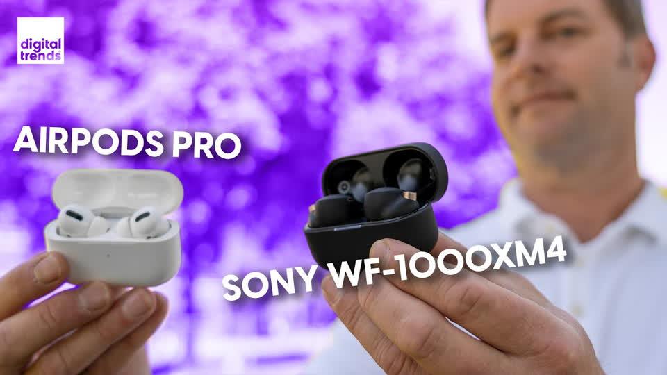 Sony WF-1000XM4 vs. Apple AirPods Pro   My New Go-To Buds?