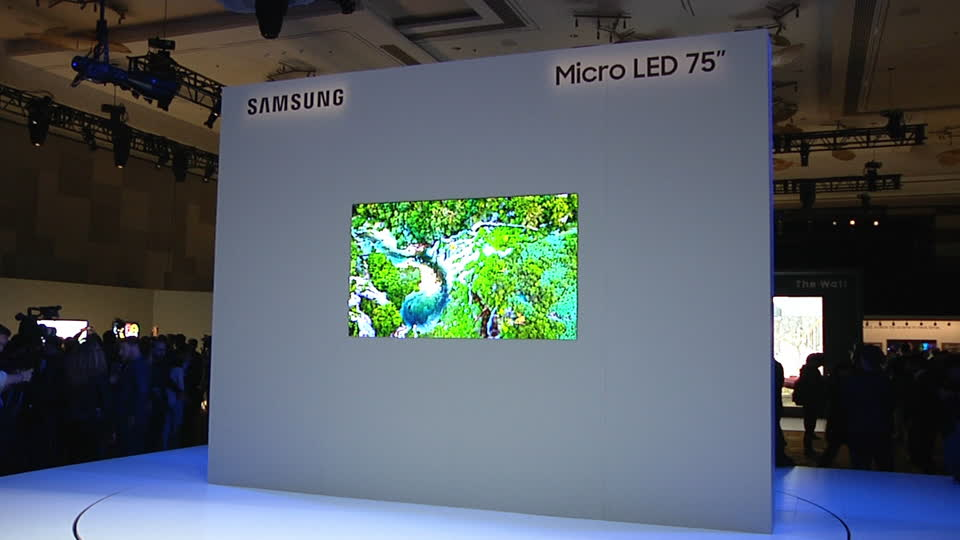 Samsung talks Micro LED and its latest 75-inch TV