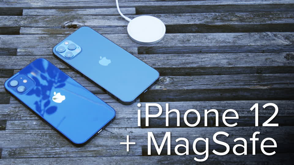 iPhone 12 unboxing & MagSafe hands-on