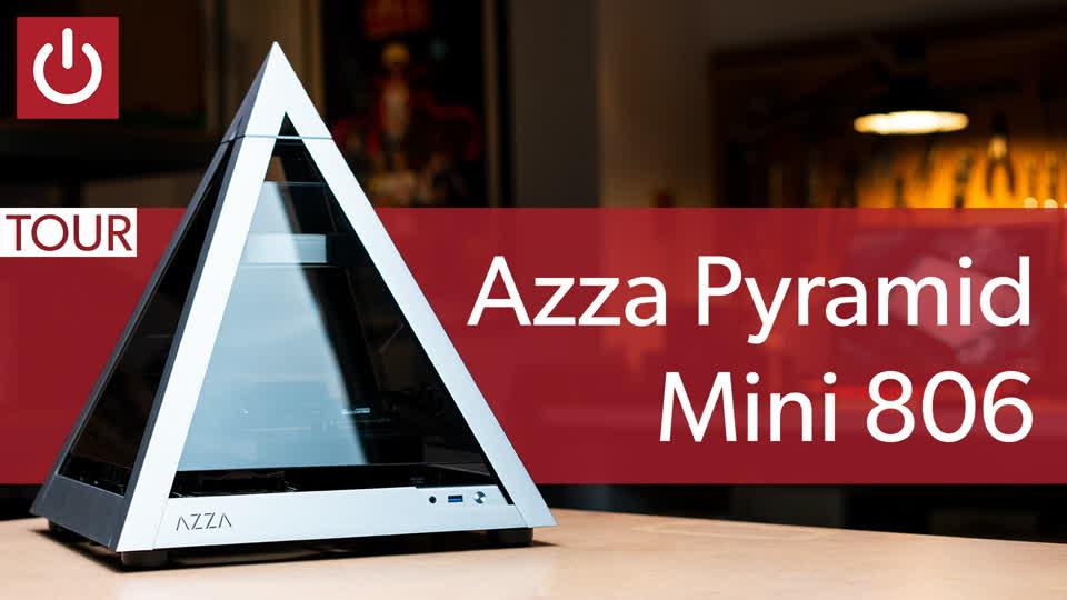 Azza Pyramid Mini 806 teardown