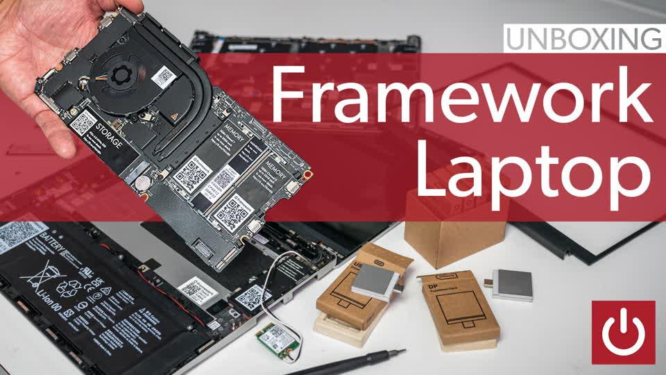 Framework Laptop teardown