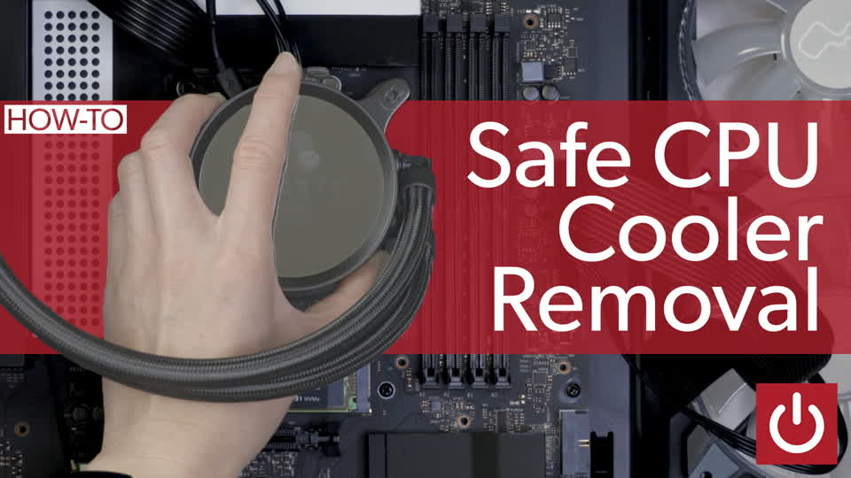 How to remove a CPU cooler safely