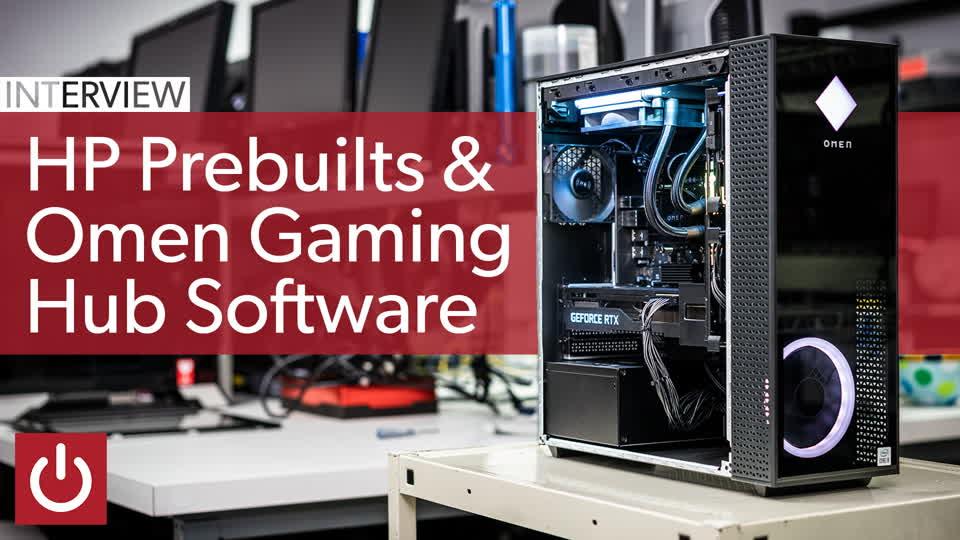 HP talks Omen pre-builts and Gaming Hub software
