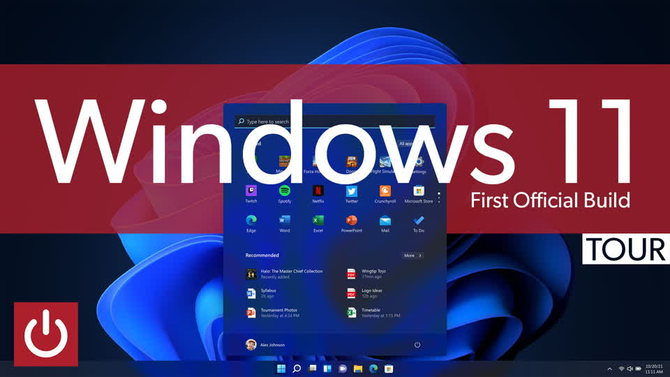 Windows 11: a tour of the first official build