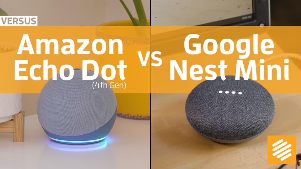 Best smart speaker for $50: Echo Dot vs Nest Mini