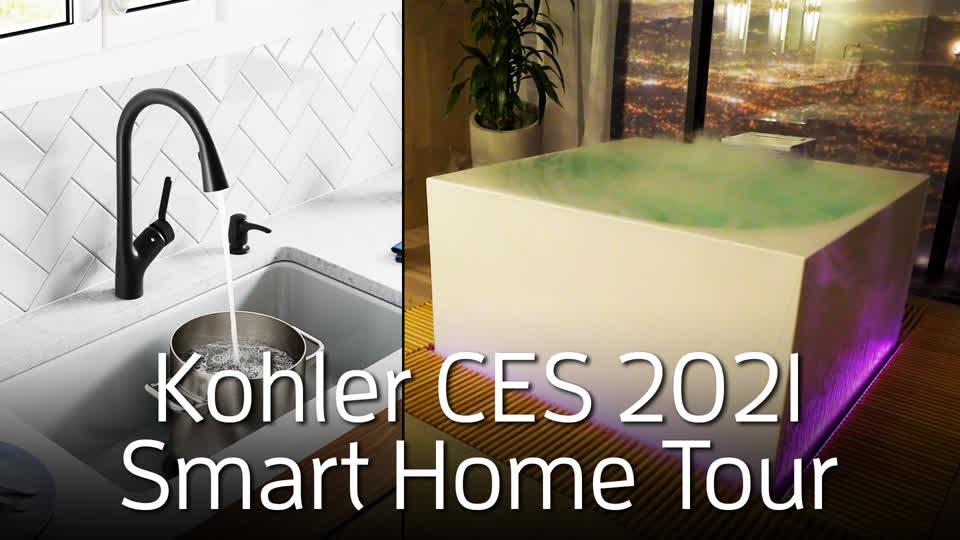Kohler CES 2021 Smart Home Tour