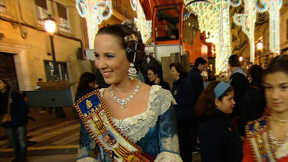 Festival Las Fallas - Valencia, Spain