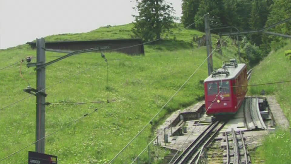 The Pilatus-Bahn: Steepest Cog Railway in the World