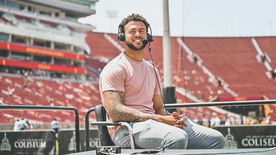 USC alum Michael Pittman Jr. gives advice for athletes on building their personal brands