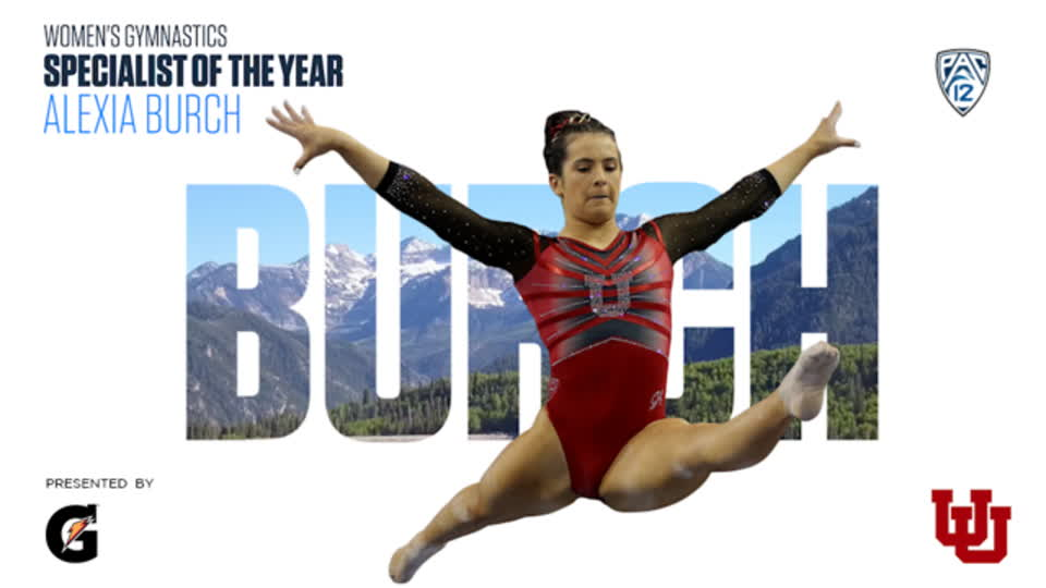 Alexia Burch earns Pac-12 Women's Gymnastics Specialist of the Year honors
