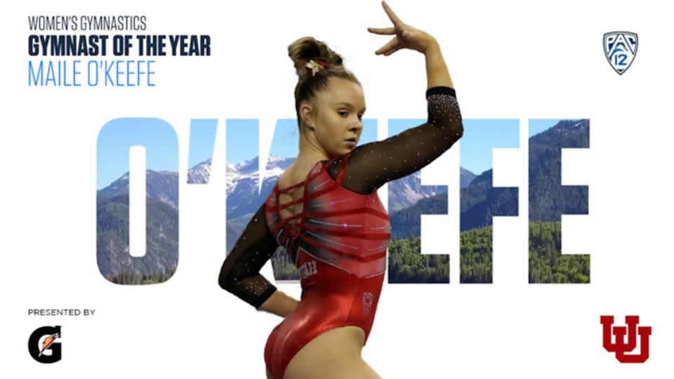 Maile O'Keefe named Pac-12 Women's Gymnastics Gymnast of the Year