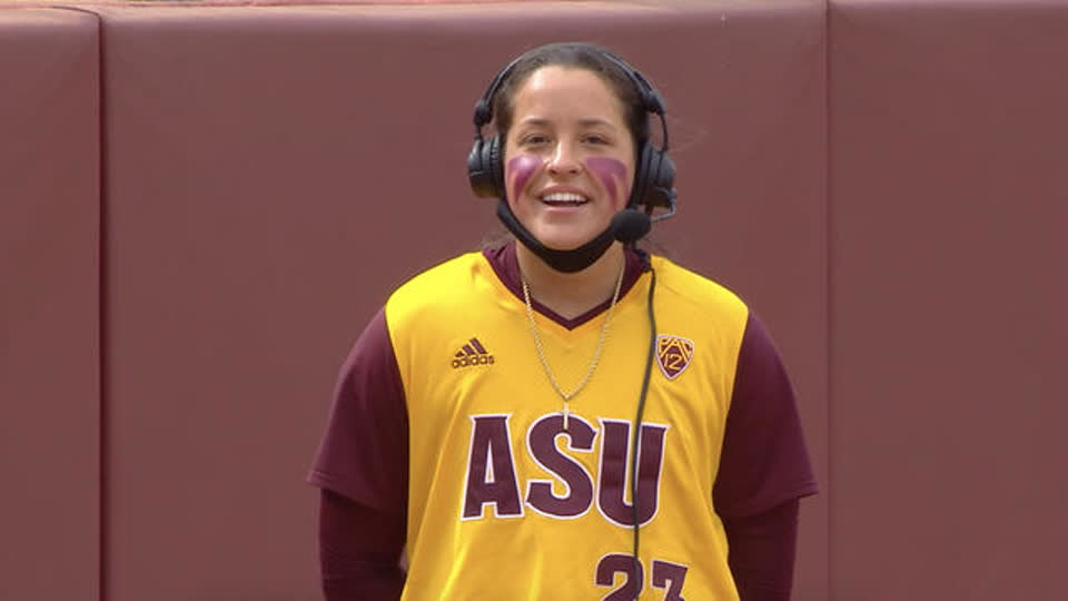 Arizona State's Maddi Hackbarth ahead of her game-winning RBI double: 'I just wanted to keep it simple'