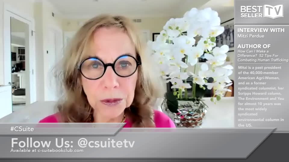 Mitzi Perdue - How Can I Make A Difference? 52 Tips for Combating Human Trafficking