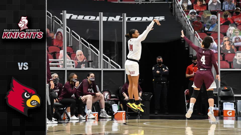Bellarmine vs. Louisville Women's Basketball Highlight (2020-21)