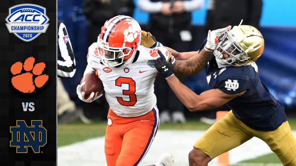 Clemson vs. Notre Dame ACC Football Championship Highlights (2020)