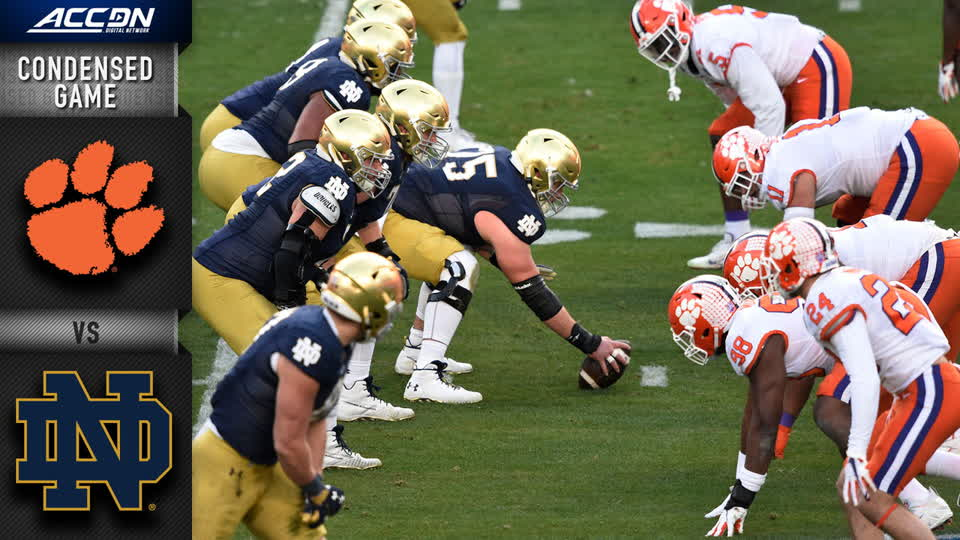 Clemson vs. Notre Dame Condensed Game | 2020 ACC Football
