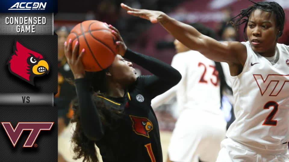Louisville vs. Virginia Tech Condensed Game | 2020-21 ACC Women's Basketball