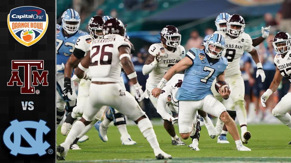 Texas A&M vs. North Carolina Orange Bowl Highlights (2021)