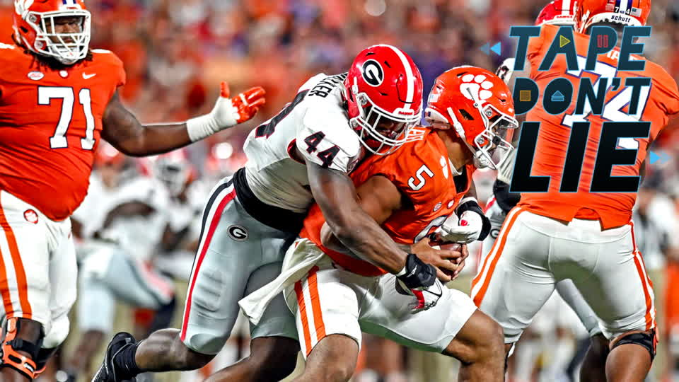 How Georgia's Defense Dominated Clemson's Offensive Line